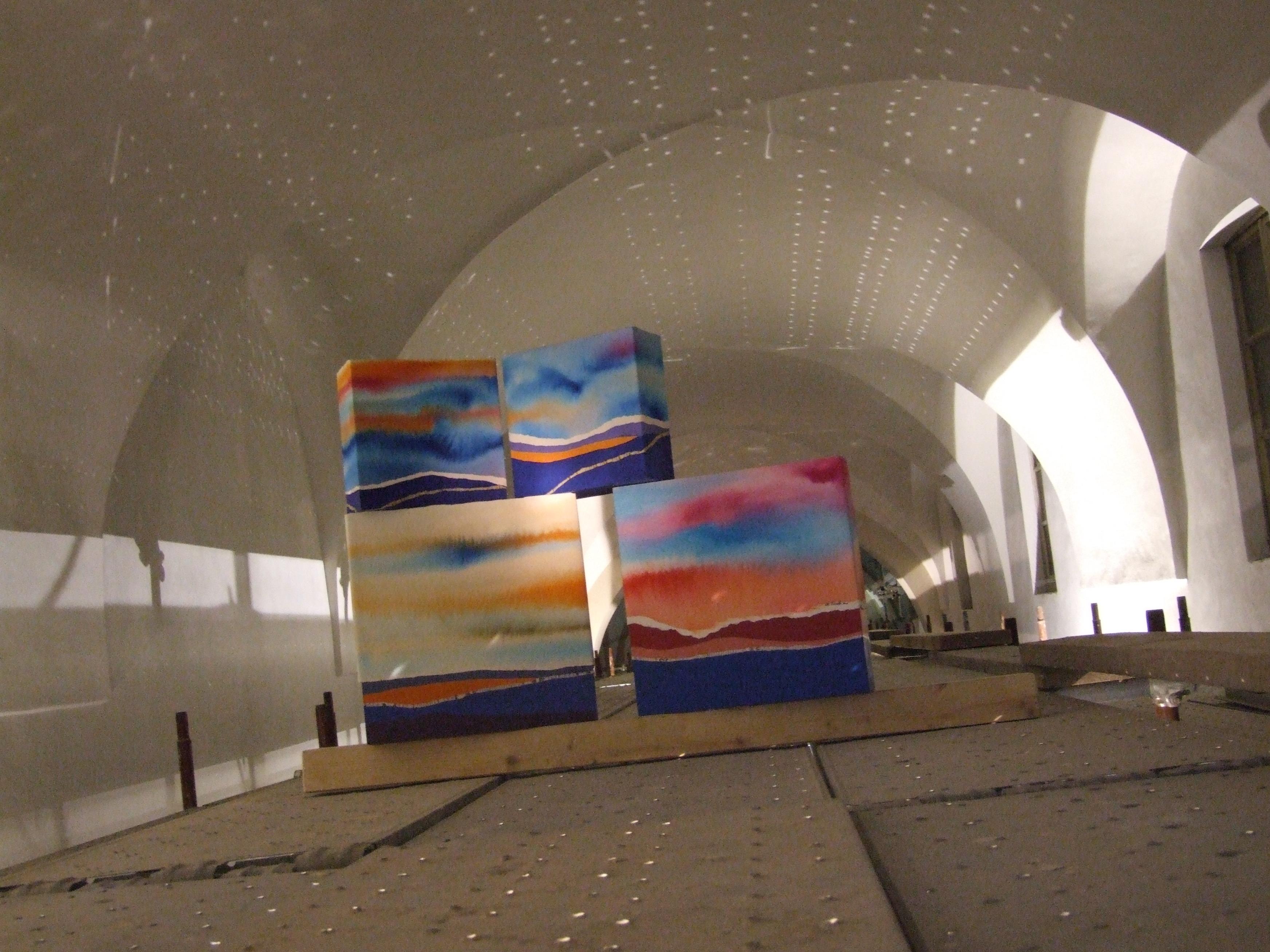 Allestimento presso l'Accademia delle belle ARTI di Brera Milano 2014